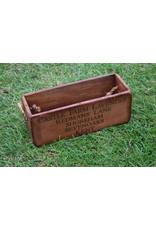 Engelse houten kistje klein