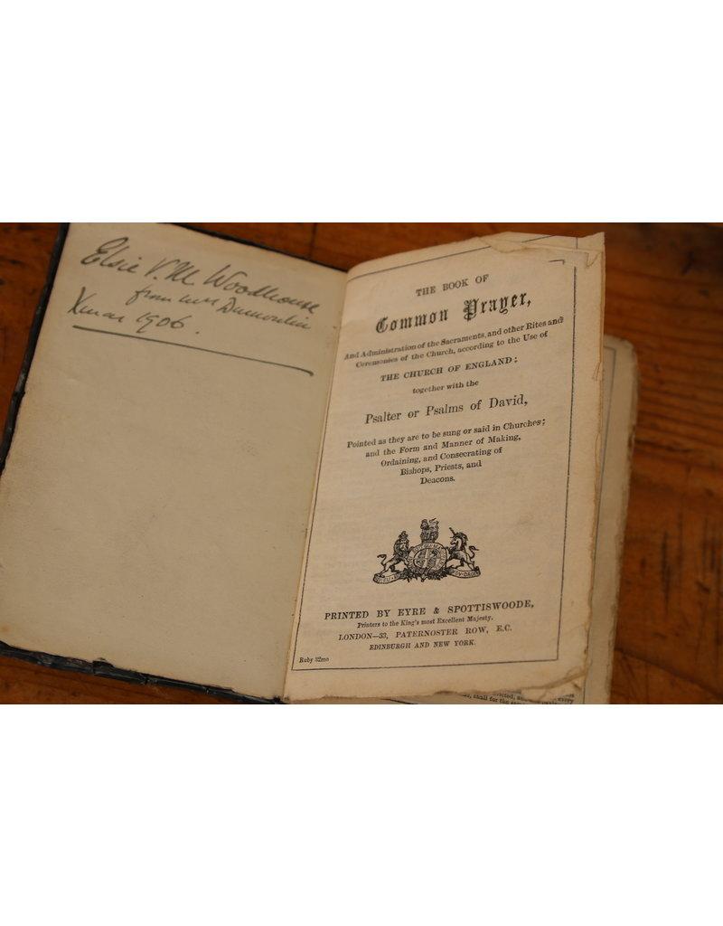 Engelse Zilveren Psalmboekje 1905