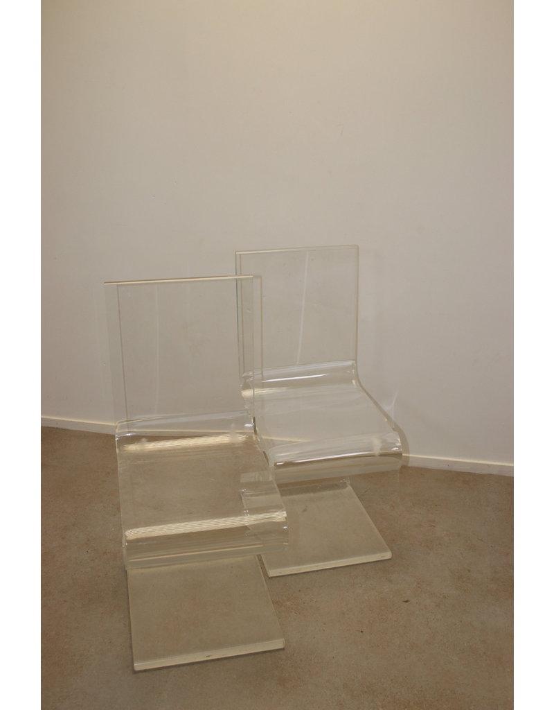 ZigZag Plexiglas Design Stoel