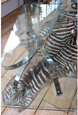 Design Coffee table Chrome base Space Age