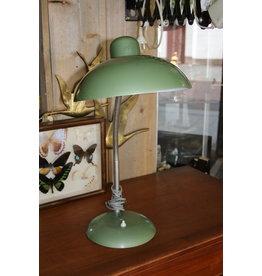 Sis Vintage Groene Bauhaus Desk lamp