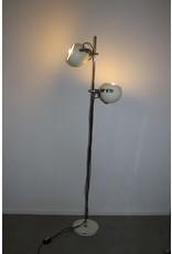 Hala Zeist White spherical metal floor lamp