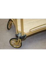 Italian Design Coctail Trolley with Marble plate