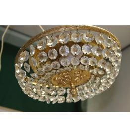 Crystal chandelier or pocket ceiling