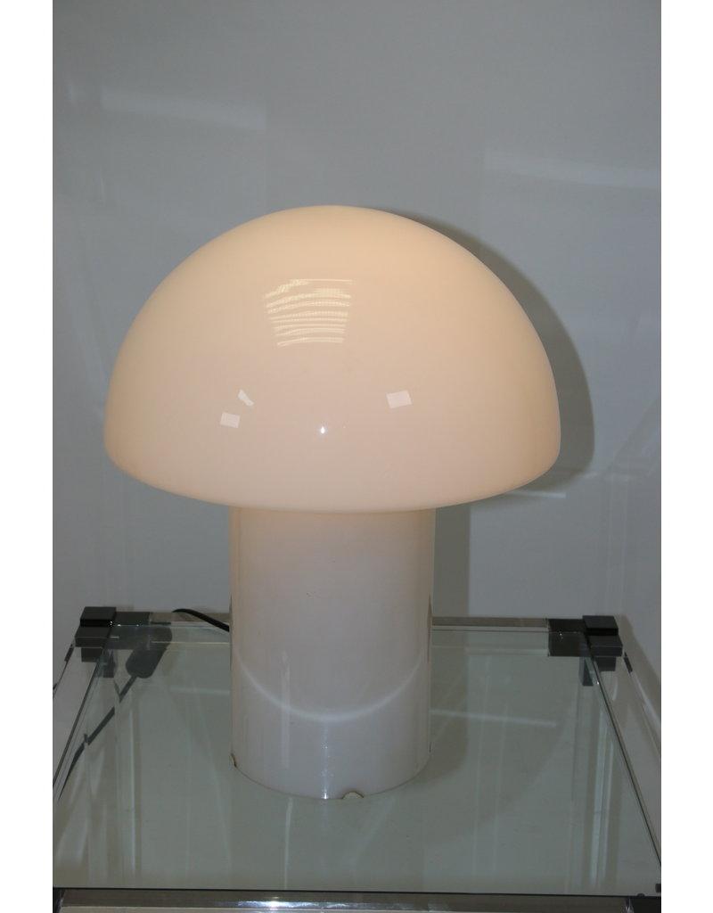 Mushroom lamp wit glas