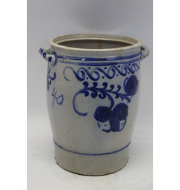 Sauerkraut pot cologne pot Mega large German earthenware 40 liter capacity.