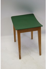 Green Vintage side stool