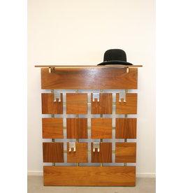 vintage wall coat rack / coat rack