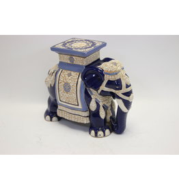 Ceramic Blue Elephant plant standard 80 years