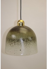 Vintage Hand-Blown Glass Hanging Lamp from Peill & Putzler