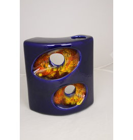 Bertoncello Italy Ceramics 60 years Blue red orange Yellow