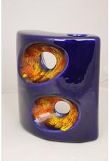 Bertoncello Italy Ceramics 60 years Blue red orange Yellow