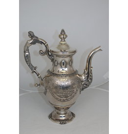 Dutch Silver Tea Can Utrecht 1878
