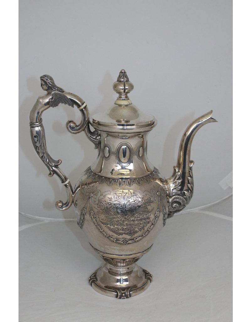 Dutch Silver Tea Can Utrecht 1878
