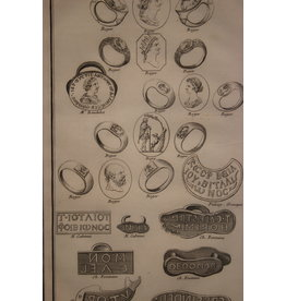 19th Print Signet rings from a student book 2