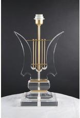 Plexiglas Lampen Voet Muziek Harp noot