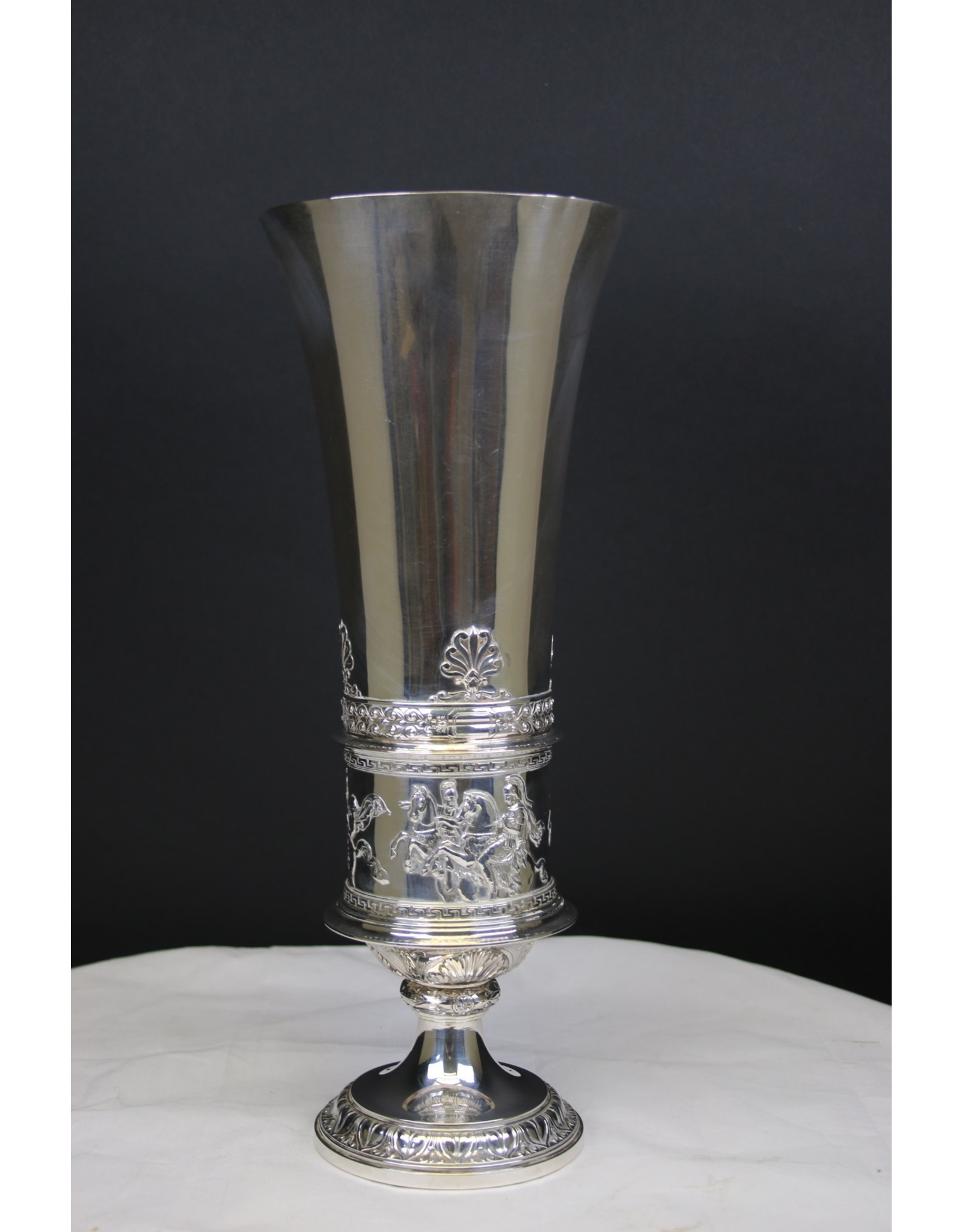 Grote Zilveren Bokaal Wenen 1860 Joseph Karl Klinkosch
