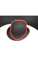 Blood Bamboo Petrified Coral Necklace