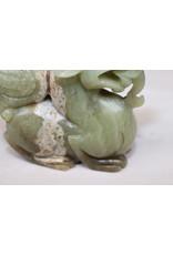 19é Groen chinees Jade Draak
