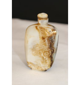 19th Chinese Pearl Snuff Bottle