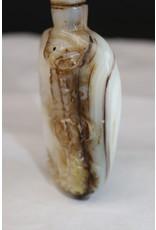 19é Chinese Paarlemoeren Snuffbottel