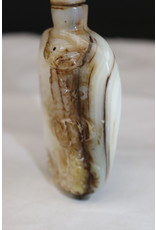 19th Chinese Pearl Snuff Bottlel snuff bottle, snuff bottle, Chinese mother-of-pearl, mother-of-pearl, opium, heroin,