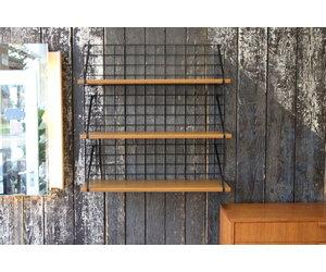 Tomado Pilastro Wandrek.Bookshelf Bookshelf 3 Wooden Shelves