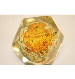 Globe in Plexiglas Spanish 60 years
