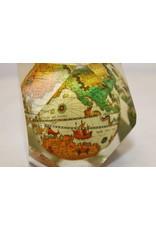 Wereldbol in Plexiglas Spaans 60 jaren