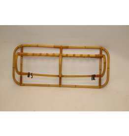 Bamboo Vintage Wall coat rack with hooks