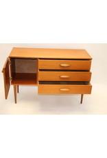 Dressoire wandkast tv meubel vintage