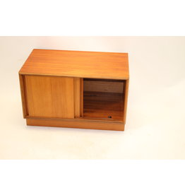 Gplan cupboard made of teak with sliding doors