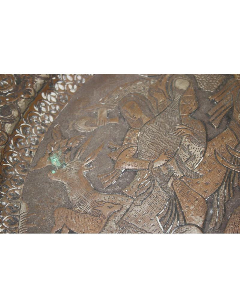 Persian Qajar Iranian Dish 19É Wall Plate Artwork