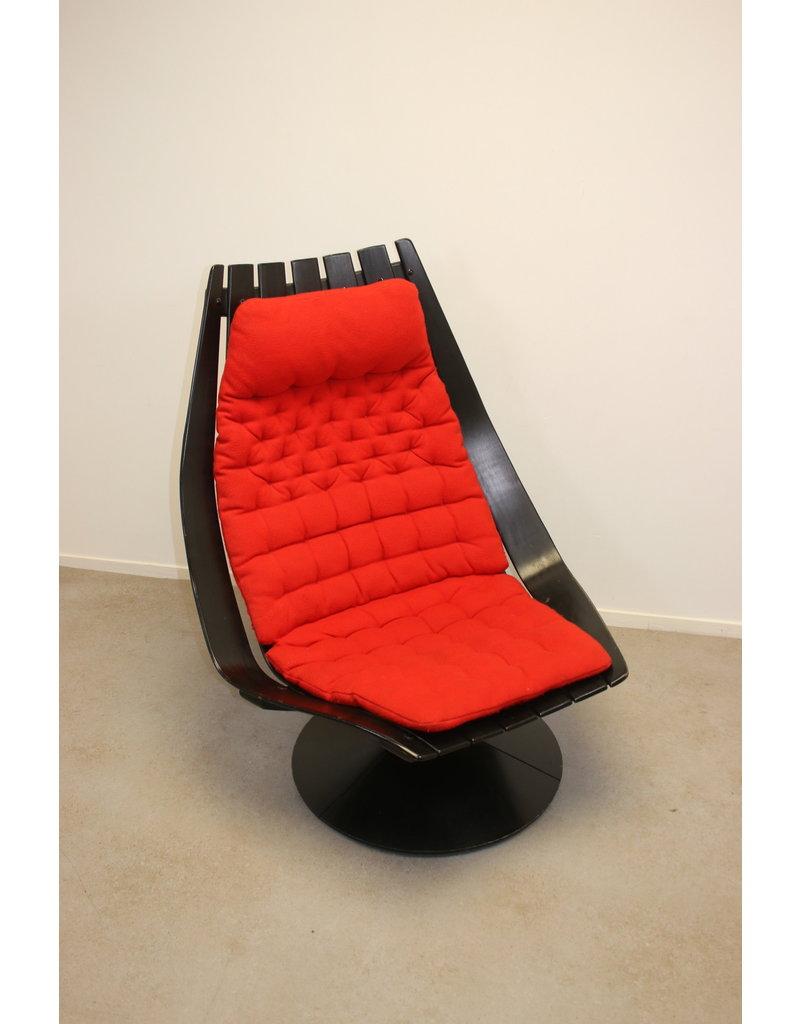 Hans Brattrud Design Chair on swivel base