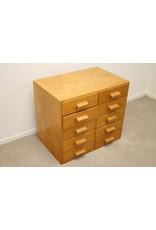 Pharmacists draw block 10 drawer wood