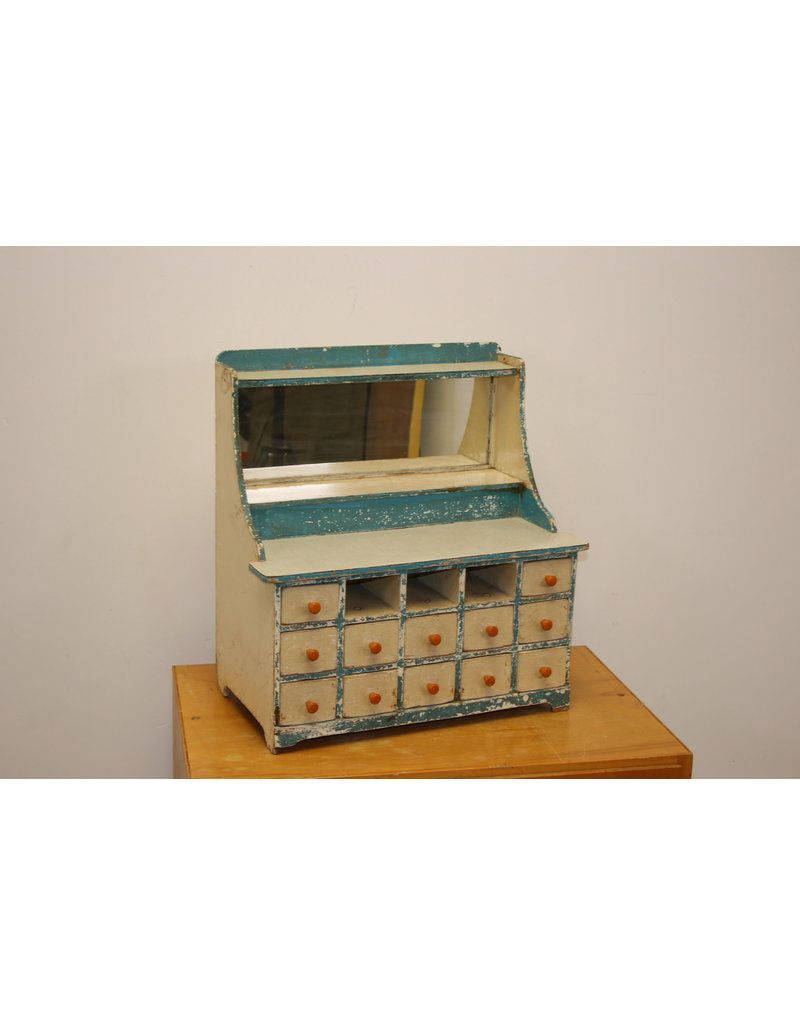 Chest of drawers mini cabinet with 12 drawers