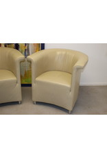 De Sede Ds 725 Leather Armchair Set Beige Single Seater Chair Genuine Leather