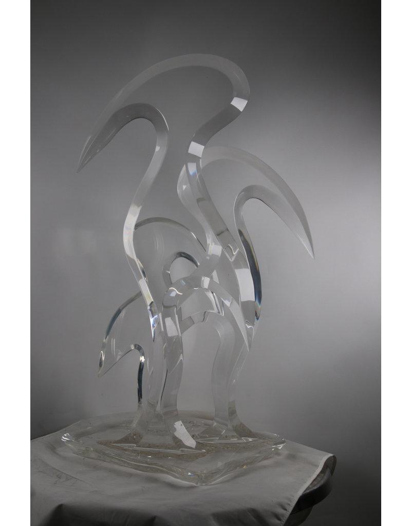 Plexiglas Vogels Hivo from Teal 20th Century