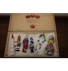 Komozja Zeldzame Kerst Ballen set in kist
