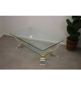 Plexiglass Coffee table Charles Hollis Johns