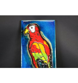 Vintage Parrot Wall Tile