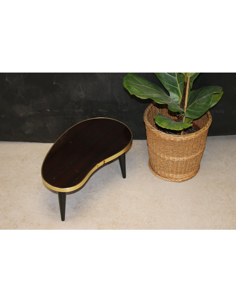 Kidney table plant table 1960s
