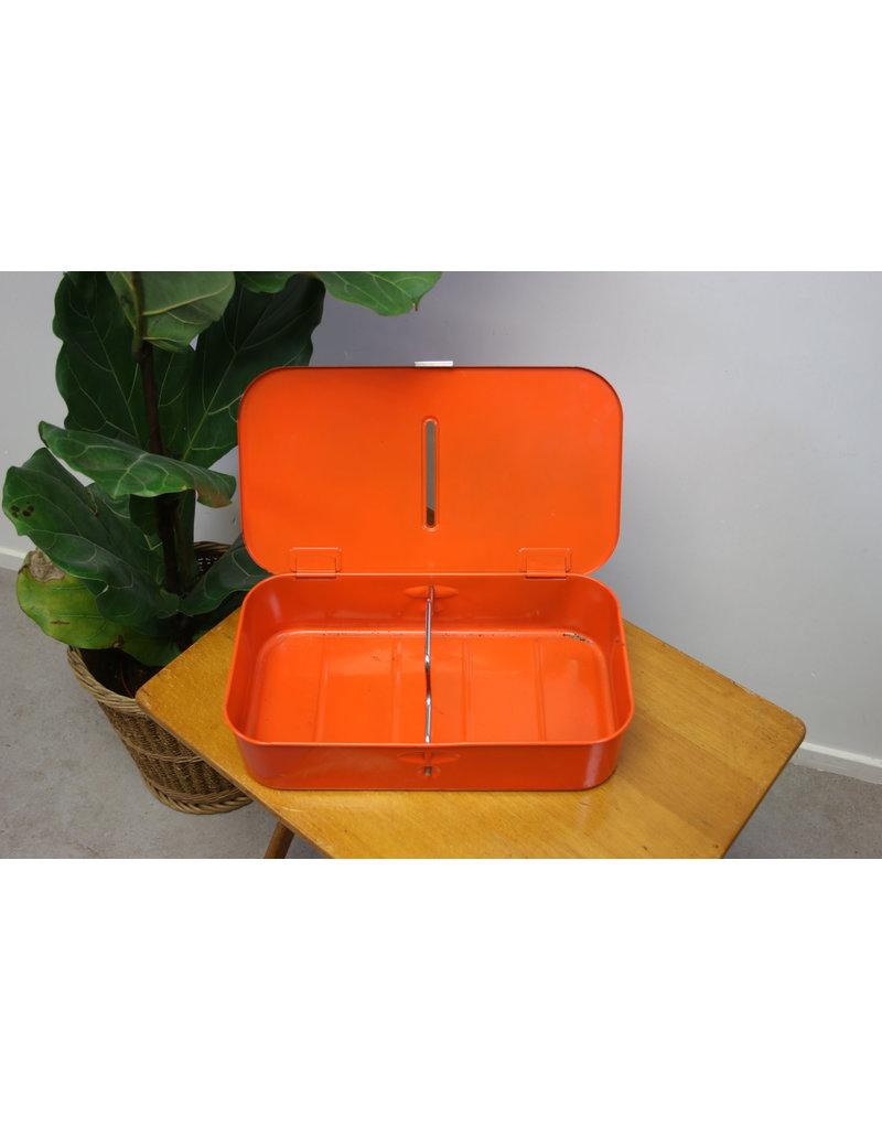 Brabantia poetsblik oranje