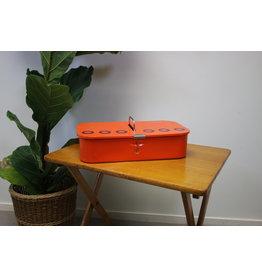 Brabantia cleaning tin orange