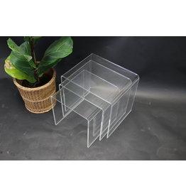 Plexiglass side table set