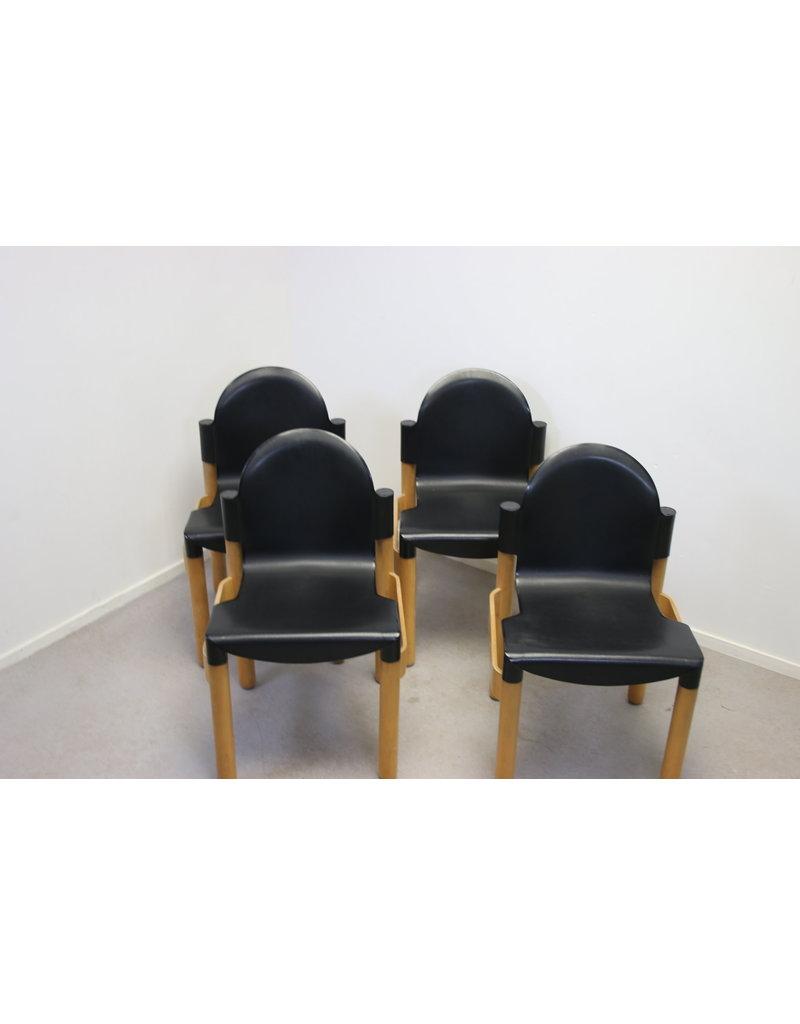 Thonet-flex Gerd long 2000 chair set of 4 pieces