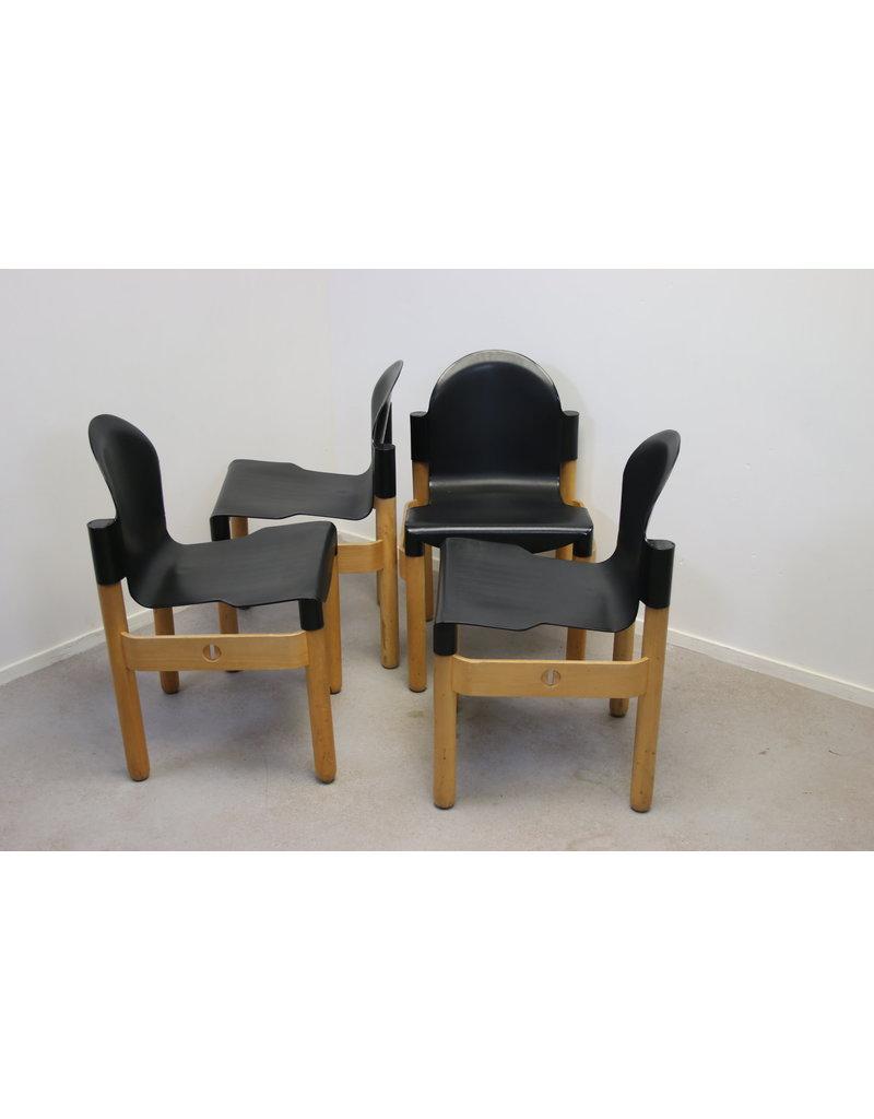 Thonet-flex Gerd lange 2000 chair set van 4 stuks