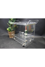Plexiglass trolley Italian design