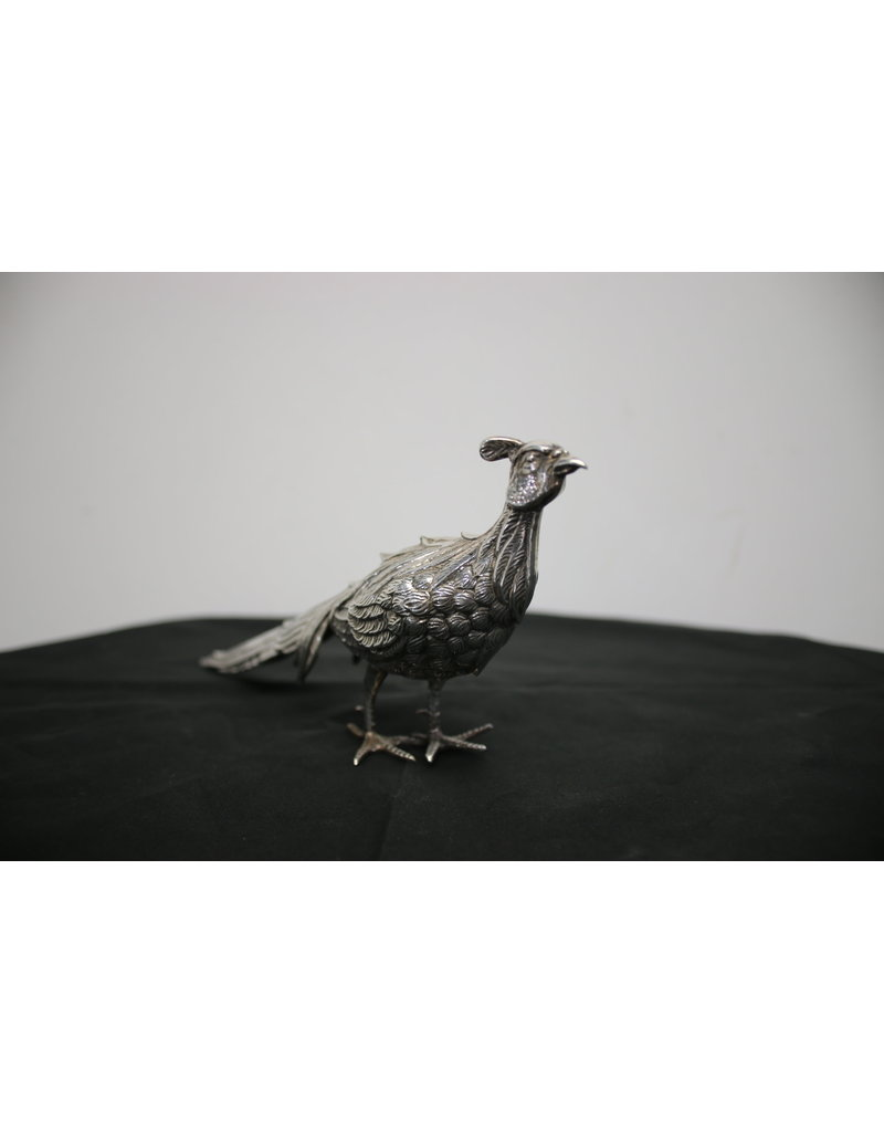Silver Pheasant Table pieces Spanish 750