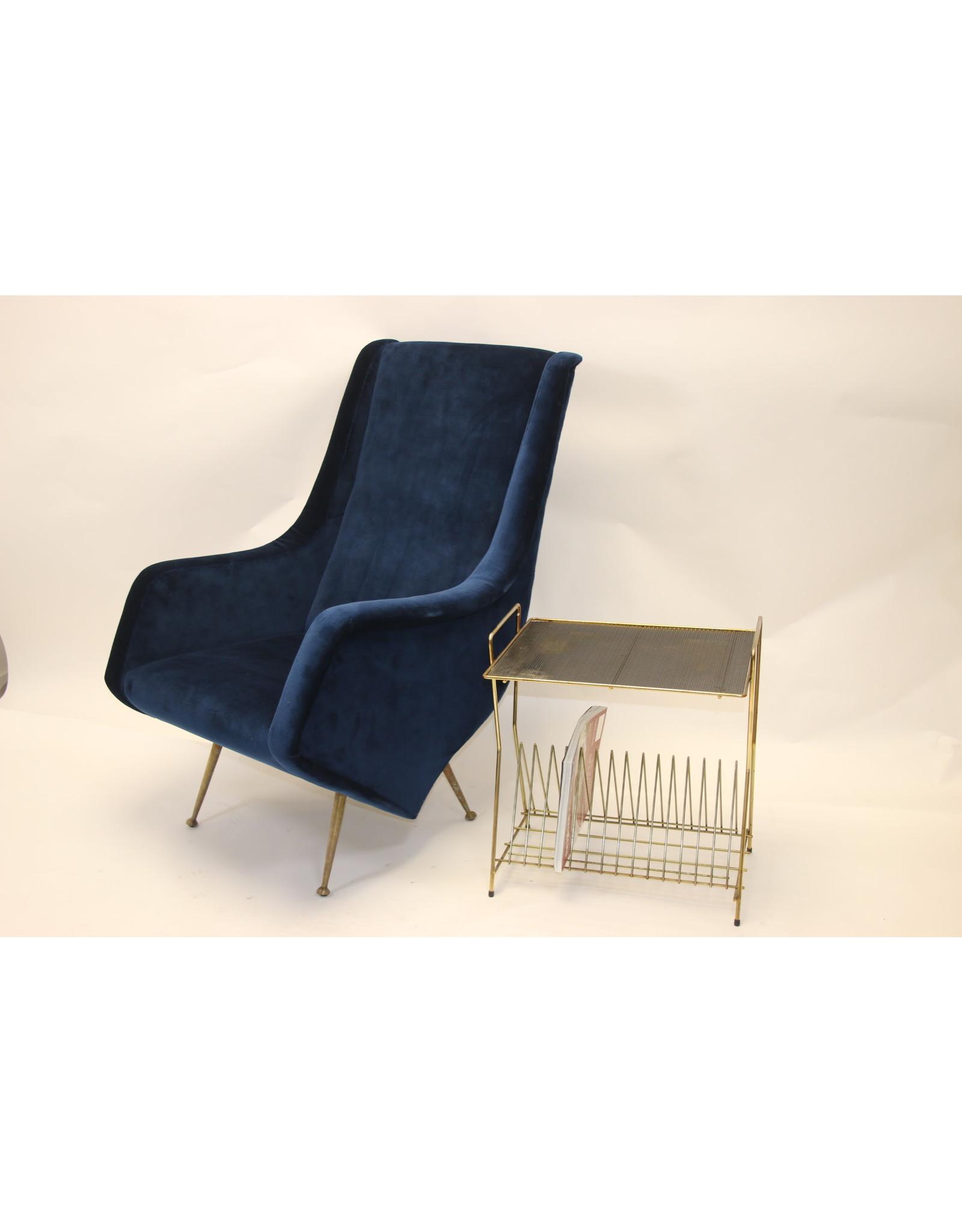 Italiaanse set stoelen Aldo Morbelli van ISA Bergamo, 1950s